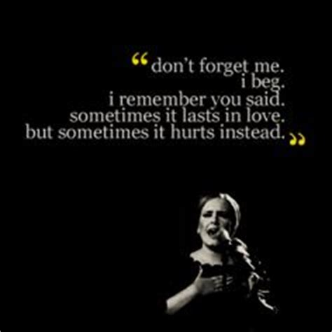 download mp3 adele miss you adele when we were young words pinterest we back