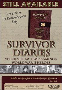avalanche survivor diaries books wwii the temiskaming speaker