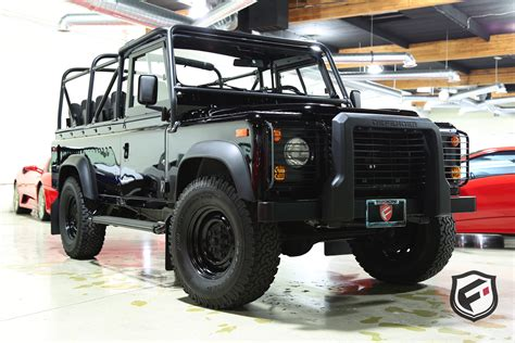 british land rover defender 1997 land rover defender fusion luxury motors