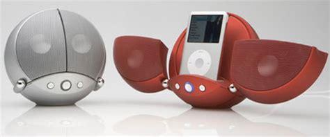 Ces 2007 Icar Ipod Dock And Speaker by Vestalife Ladybug Speaker Dock Ubergizmo