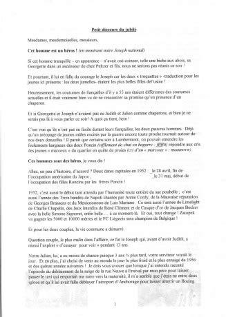 Modele De Discours D Accueil