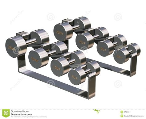 Weight Rack With Weights by Weight Rack Stock Photo Image 176910