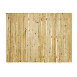 8 Foot Trellis Panels Shop Pine Ear Pressure Treated Wood Fence Panel