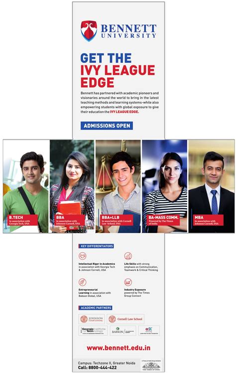 Get In League Mba From India by League Edge Admissions Ad Advert