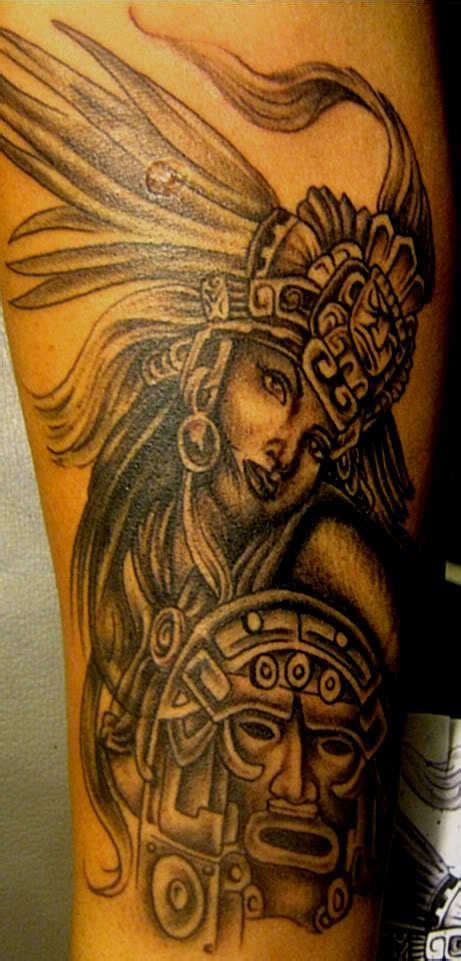 aztec woman tattoo aztec tattoos3d tattoos