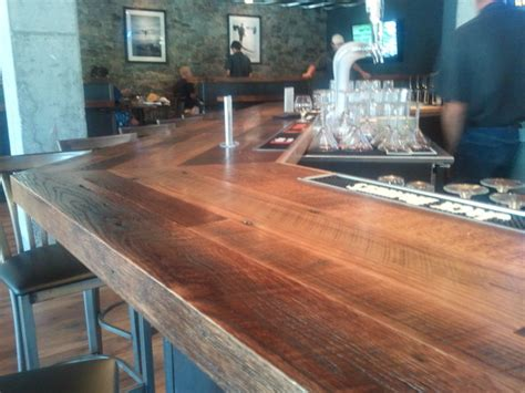old bar tops for sale reclaimed oak bar top wine cellar by reclaimed designworks