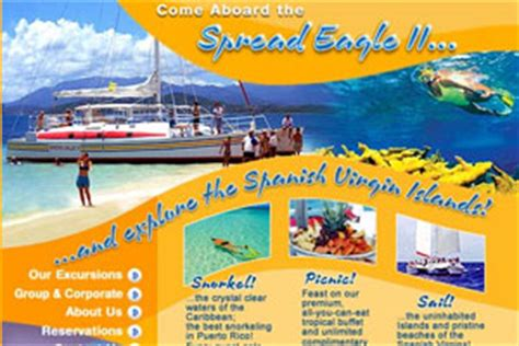catamaran spread eagle ii fajardo pr puerto rico snorkeling and day sailing tours discovering