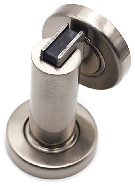 modern door stop qt premium modern cylindrical solid steel magnetic door
