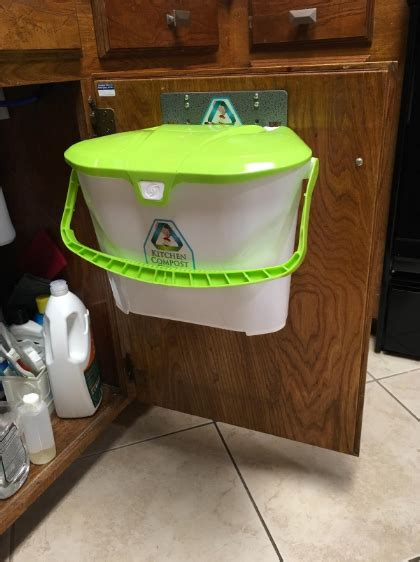 sink compost bin get a compost bin that s easily stored your sink