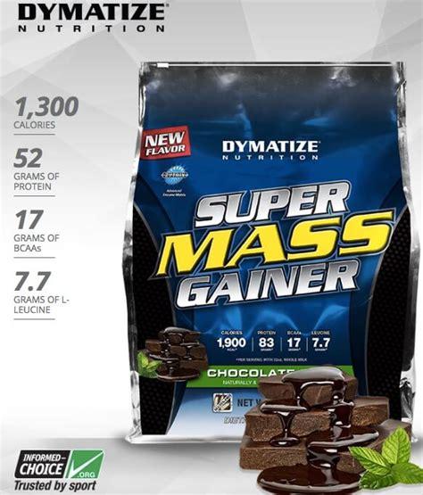 Suplemen Gainer suplemen fitness dymatize mass gainer