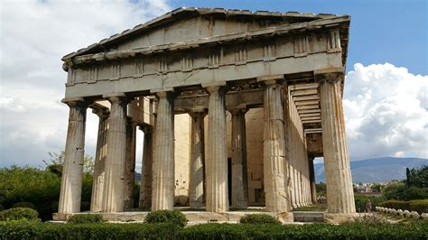 Athens Architecture American Democracy Is Not But The Greeks Were The