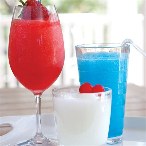 red white and blue cocktail trio sandra lee