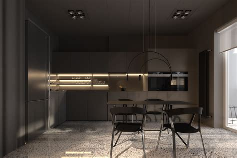 all black kitchen don t be afraid of the dark 4 lovely homes with strong