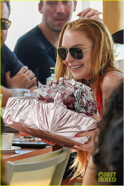 Lindsay Lohan Celebrates Independence by Lindsay Lohan Celebrates 30th In Greece With Egor