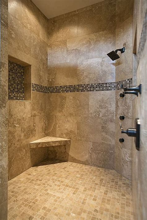 Master Bathroom Tile Ideas Best 25 Shower Tile Designs Ideas On Pinterest Master Bathroom Shower Master Shower And