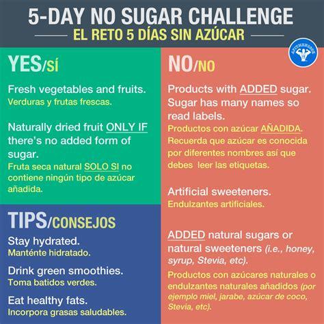 5 Dat Sugar Detox Challenge by 5 Day No Sugar Challenge Fit Cook