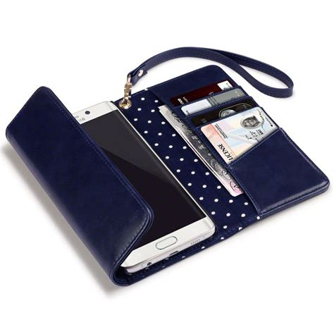 Nike Blue Polkadot Samsung Galaxy S6 Edge Casing Cover clutch purse wallet for samsung galaxy s6 edge plus blue polka dot ebay