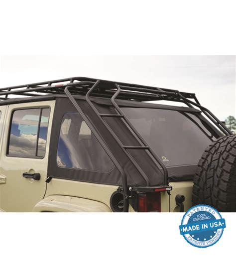 gobi jeep wrangler jk45 slantback ladder driver side