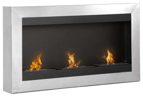 modern ethanol fireplaces magnum wall mounted ventless ethanol fireplace