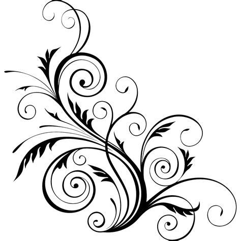 image art clip floral swirl design png animal