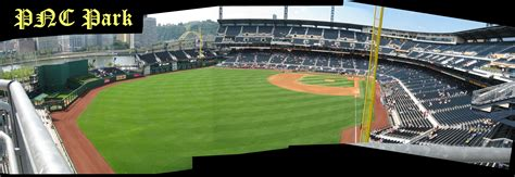 pnc park sections pnc park panoramas 171 cook sons baseball adventures