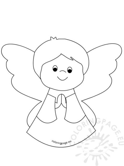 coloring pages of baby angels coloring page