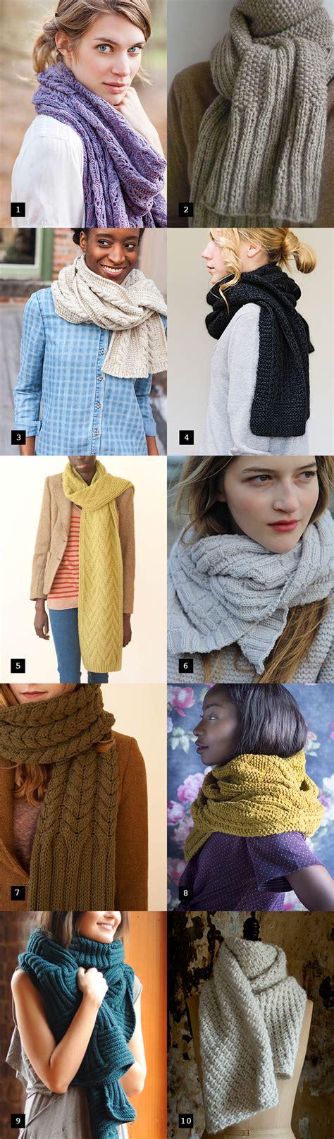starting a scarf knitting scarves to start now fringe association