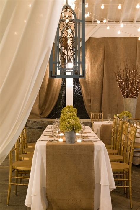 sheer burlap curtains 416 best burlap jute wedding details images on pinterest
