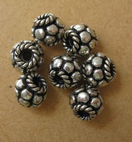 bead me store sterling silver bead spacer filigreeandme on artfire