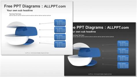 fungsi layout reset new slide uppercase free 3d divided graphic ppt diagrams download free
