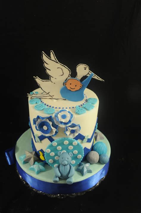 Baby Shower Stork Theme by Stork Theme Baby Shower Cake Cakecentral