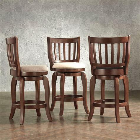 bar stools 24 inches high swivel ali modern linen 24 inch high back counter height swivel