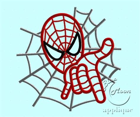 spiderman embroidery pattern spiderman applique design for embroidery by