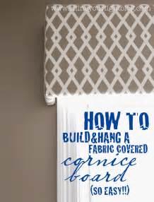 how to make a fabric cornice valance cornice boards on custom window treatments