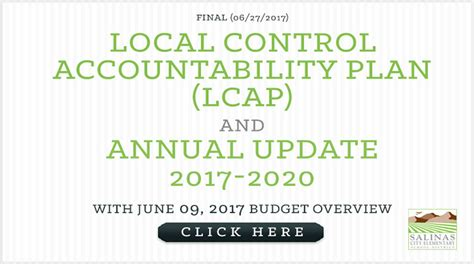 local control accountability plan lcap salinas city elementary school district