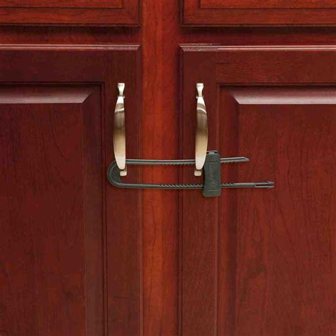 Child Proof Locks For Kitchen Cabinets Locking Cabinet Latch Home Furniture Design