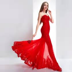 wedding dresses red mermaid wedding gowns 2016 open