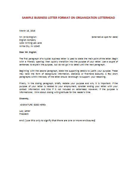 business letter vs cover letter the 25 best letter format sle ideas on