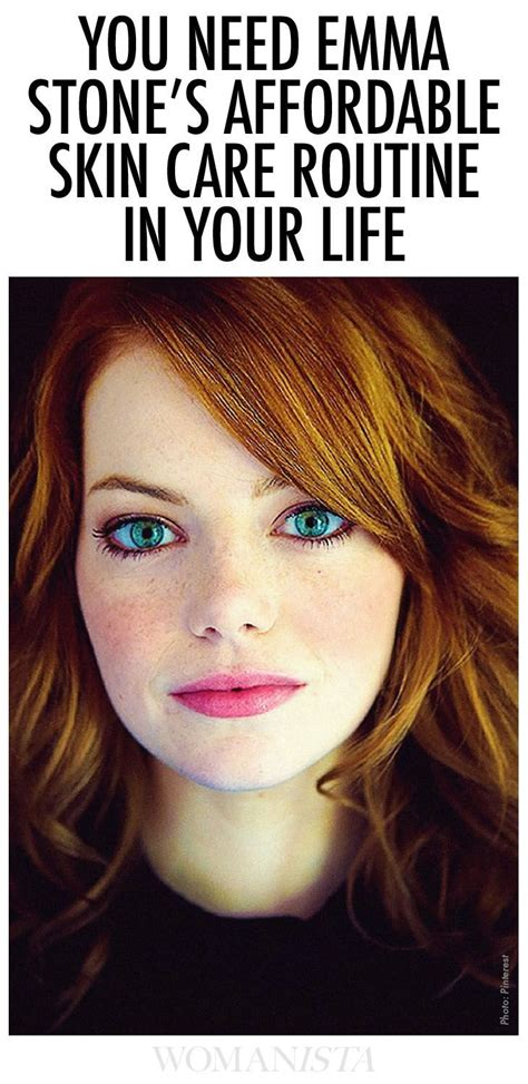 Emma Stone Skin Care | 2070 best images about hair nails skin makeup more on