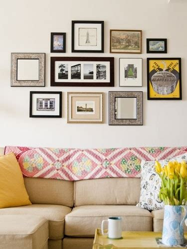 wall collage 1000 ideas about picture frame arrangements on