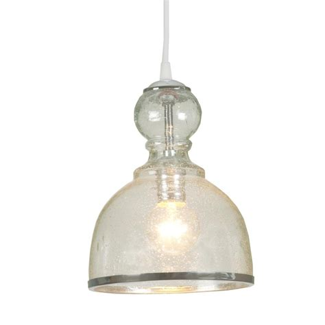 Seeded Glass Pendant Light Colored Seeded Glass Pendant Available In 4 Colors Aqua Clear Peri
