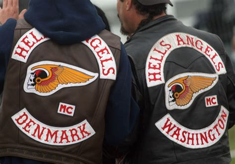 Motorradclub Holland by Hells Angels Back Patch Denmark And Washington Hells