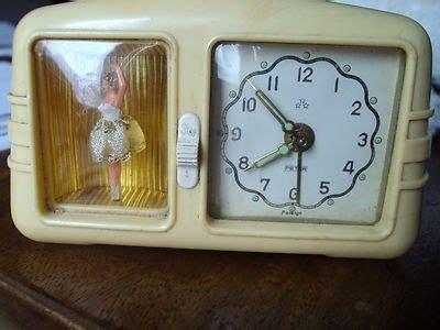 bakelite peter alarm clock  ballerina  box