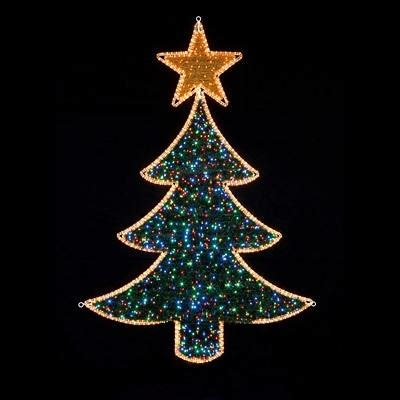 flashing led christmas tree lights christmas decore
