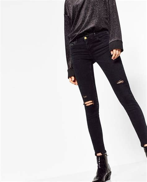 Jegging Zara Ripped best 25 ripped jeggings ideas on american