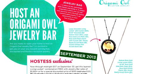 Origami Owl History - origami owl do the hoot september 2013 hostess exclusive