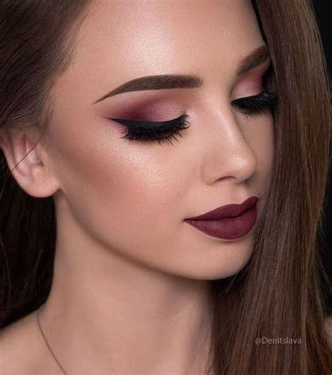 Paket Daily Eye Make Up The One Photo Le Total Look Maquillage Bordeaux