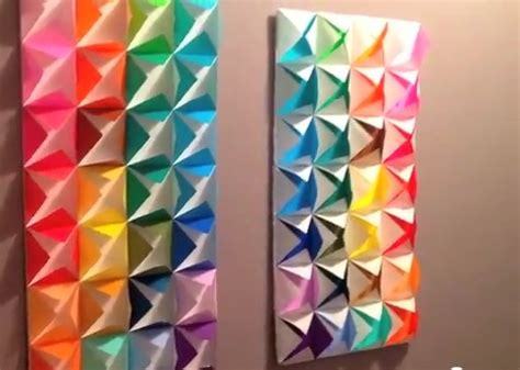 Origami Decorations - origami wall decoration gioocoo wall