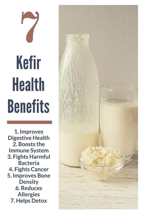 Yogurt Detox Benefits by Top 7 Health Benefits Of Kefir