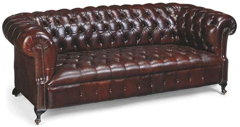 Upholstered Chesterfield Sofa A Leather Upholstered Chesterfield Sofa Late 20th Century Christie S